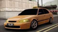 Honda Civic Fake Taxi
