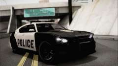 Bravado Buffalo S Police Edition (IVF) para GTA San Andreas