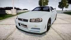 Nissan Skyline R34 GT-R NISMO Z-tune [RIV] para GTA 4
