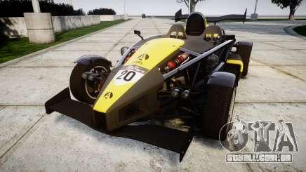 Ariel Atom V8 2010 [RIV] v1.1 Hauminator para GTA 4