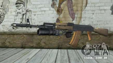 AK-74 Para garantir a nossa para GTA San Andreas