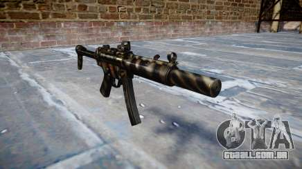 Arma MP5SD DRS FS c-alvo para GTA 4