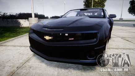 Chevrolet Camaro SS [ELS] Unmarked interceptors para GTA 4