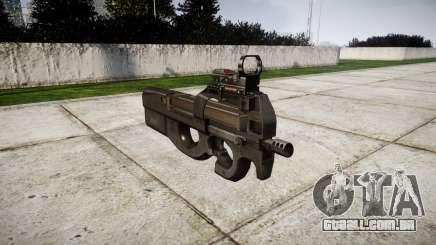 Belga submachine gun, FN P90 para GTA 4