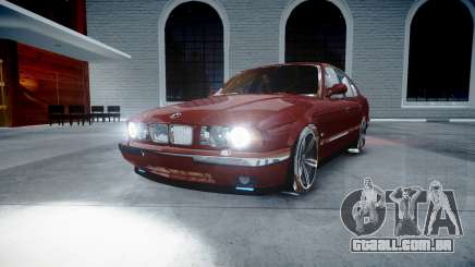 BMW M5 E34 1995 Stock para GTA 4