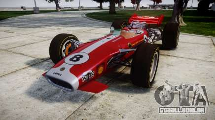 Lotus 49 1967 red para GTA 4