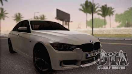 BMW F30 320d para GTA San Andreas