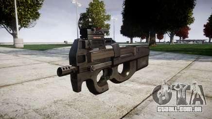 Belga submachine gun, FN P90-alvo para GTA 4