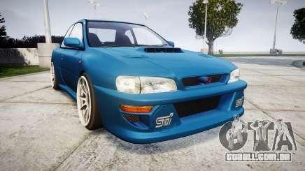 Subaru Impreza 22B Street para GTA 4