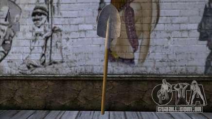 New Shovel para GTA San Andreas