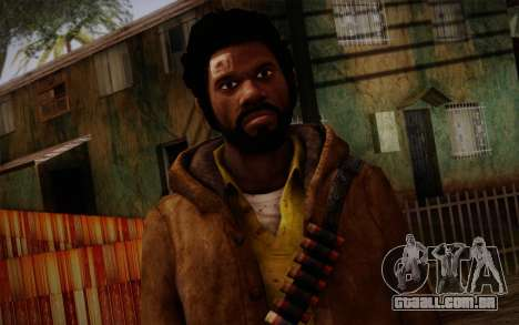 Louis from Left 4 Dead Beta para GTA San Andreas terceira tela