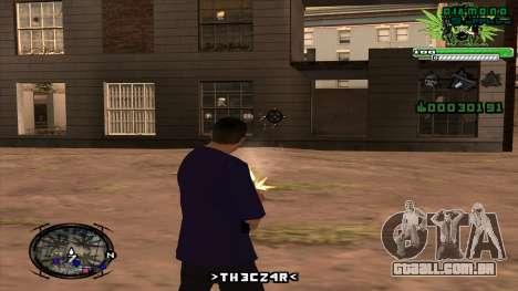 C-HUD para GTA San Andreas terceira tela