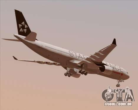 Airbus A330-300 Air Canada Star Alliance Livery para GTA San Andreas vista direita