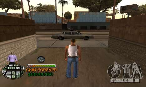 C-HUD СМИ PARA SEMPRE para GTA San Andreas