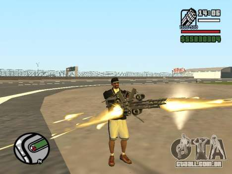 Dupla de posse de todas as armas para GTA San Andreas quinto tela