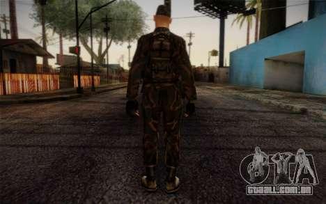 Soldier Skin 4 para GTA San Andreas segunda tela