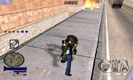 C-HUD Normal para GTA San Andreas