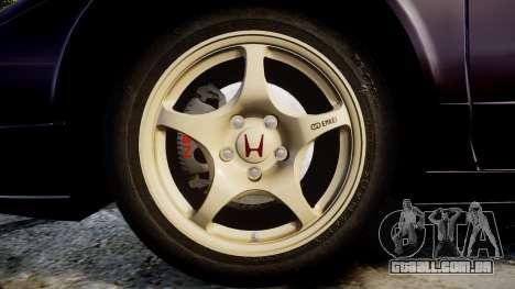 Honda NSX-R NA1 1992 [EPM] para GTA 4 vista de volta