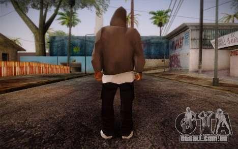 New Fam Skin 3 para GTA San Andreas segunda tela