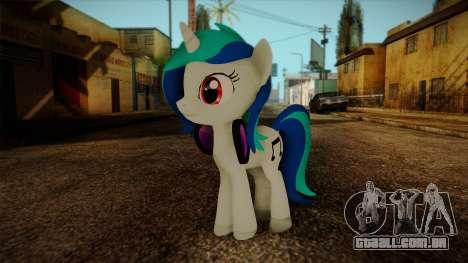 Vinyl Scratch from My Little Pony para GTA San Andreas