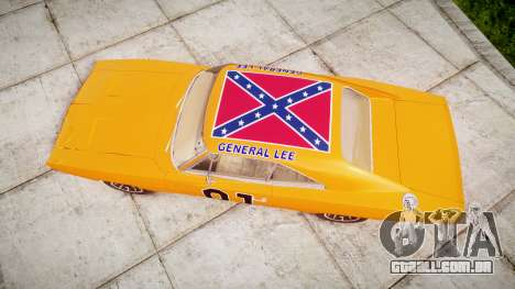 Dodge Charger RT 1969 General Lee para GTA 4 vista direita