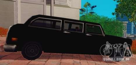 Cabbie Wagon para GTA San Andreas esquerda vista