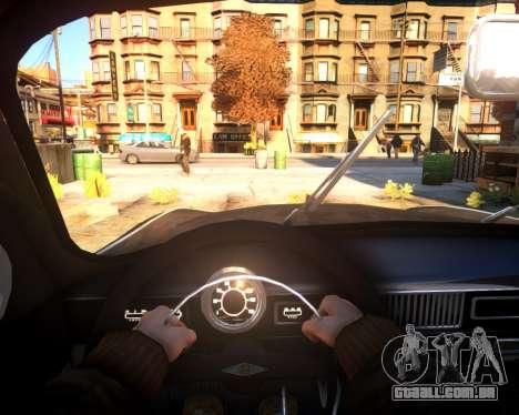 Moskvich 407 para GTA 4 vista de volta