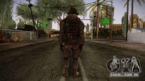 Modern Warfare 2 Skin 5 para GTA San Andreas segunda tela