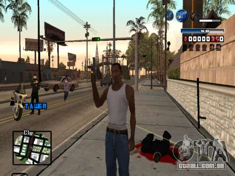 C-HUD Fantastik para GTA San Andreas segunda tela