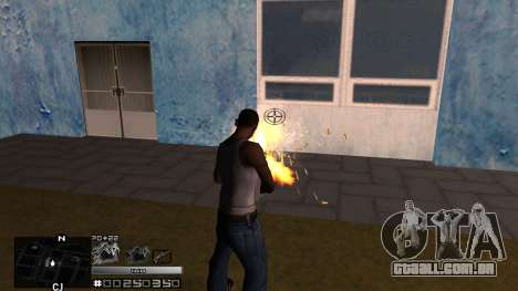 C-HUD Silver para GTA San Andreas terceira tela