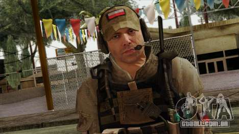 Modern Warfare 2 Skin 16 para GTA San Andreas terceira tela