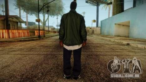 New Ryder Skin para GTA San Andreas segunda tela