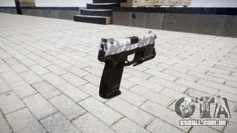 Pistola HK USP 45 sibéria para GTA 4 segundo screenshot