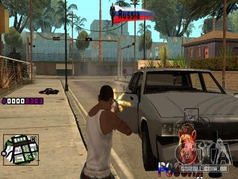 C-HUD RussiA para GTA San Andreas terceira tela