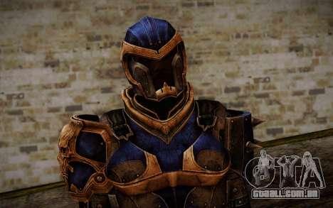 Shepard Reckoner Armor from Mass Effect 3 para GTA San Andreas terceira tela