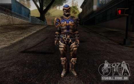 Shepard Reckoner Armor from Mass Effect 3 para GTA San Andreas