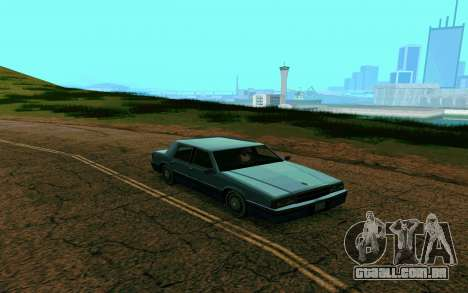 ENB para empresas de médio e PC fraco para GTA San Andreas por diante tela