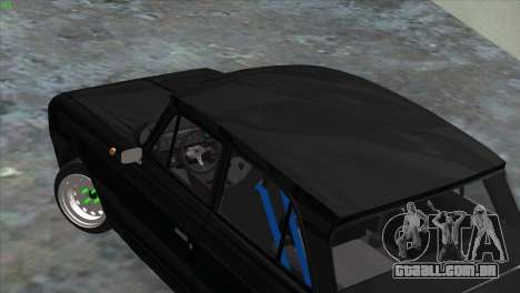 IZH 412 korchevoi para GTA San Andreas esquerda vista