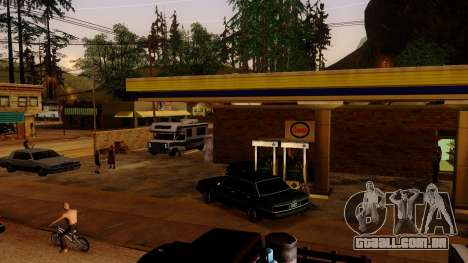 Recuperação de estações de Los Santos para GTA San Andreas por diante tela