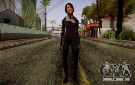 Ann Bryson from Mass Effect 3 para GTA San Andreas