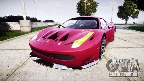Ferrari 458 GT2 para GTA 4