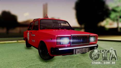 VAZ 2107 Auto Escola para GTA San Andreas