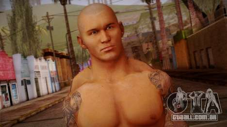 Randy Orton from Smackdown Vs Raw para GTA San Andreas terceira tela