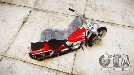 Western Motorcycle Company Daemon para GTA 4 vista direita