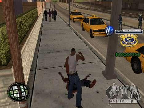 C-HUD Police S.A.P.D para GTA San Andreas