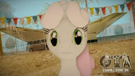 Sweetiebelle from My Little Pony para GTA San Andreas terceira tela