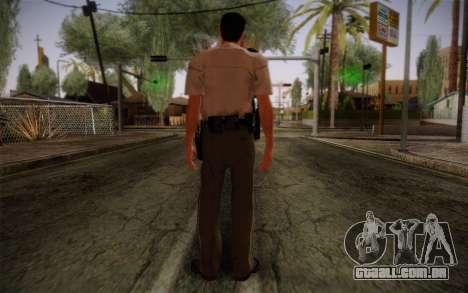 Alex Shepherd From Silent Hill Police para GTA San Andreas segunda tela
