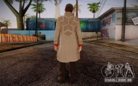 Aiden Pearce from Watch Dogs v7 para GTA San Andreas segunda tela