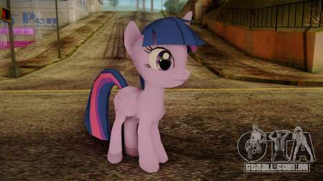 Twilight Sparkle from My Little Pony para GTA San Andreas