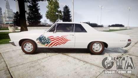 Pontiac GTO 1965 united para GTA 4 esquerda vista